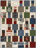 Ski Vacation Quilt Kit
