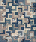 Slate Muffin Bailey Quilt Kit