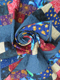Outer Space Patchwork Quilt