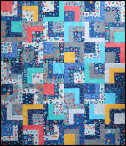 Space Travel Quilt Top