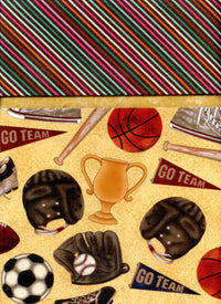 Pillowcase Kit Sports Gold