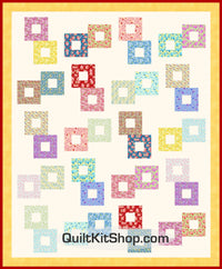 Spring Tonic PreCut Bed Quilt Kit
