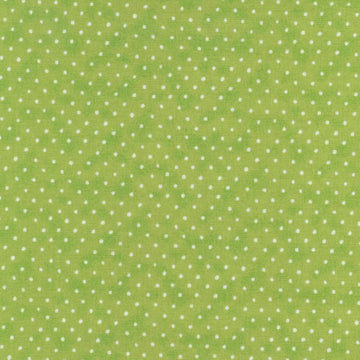 Strawberry Shortcake Dot Lime Spectrix Fabric