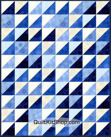 Twilight Blue PreCut Quilt Kit