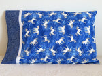 Unicorn Blue Handmade Pillowcase