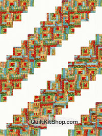 Whimsical Christmas PreCut 12 Block Quilt Kit