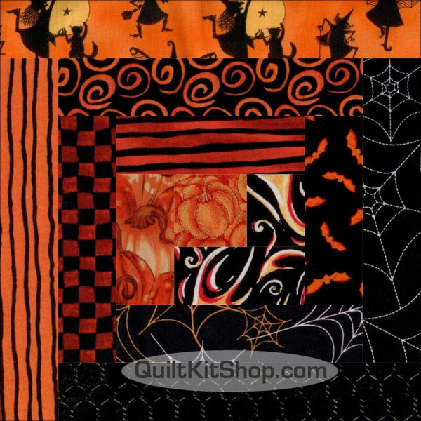 Wickedly Wonderful PRECUT Quilt Block Kit