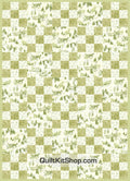 Irish Chain Winter Green PreCut Quilt Kit