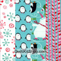 Winter Wonderland PreCut 12 Block Quilt Kit