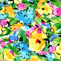 Xanadu Bright Abstract Floral Quilting Treasures