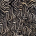 Zebra Stripe Beige Spectrix Fabric