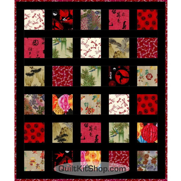 Zen Easy Peasy PreCut Quilt Kit