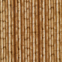 Bamboo Stalks Landscape Brown Plains of Africa Spectrix Fabric