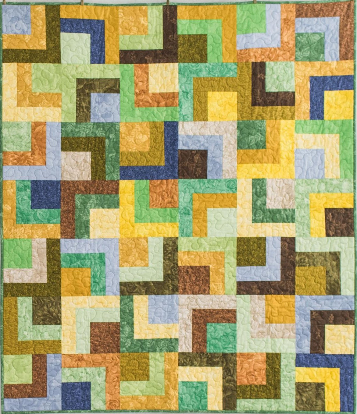 Tropical Rainforest PreCut Throw Quilt Kit