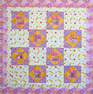 Dear God Quilt Top