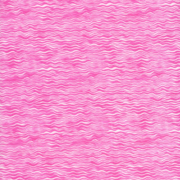 Floral Whimsies Wavy Pink Clothworks Fabric
