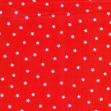 Spot The Dog Goodnight Spot Stars Red Fabric Andover