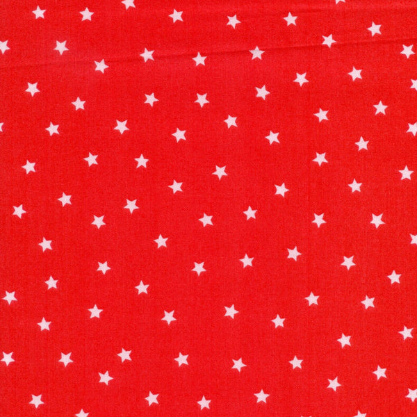 Spot The Dog Goodnight Spot Stars Red Andover Fabric