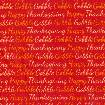 Happy Thanksgiving Gobble Holiday