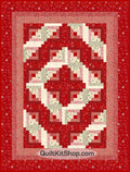Red Luna Quilt Kit PRECUT