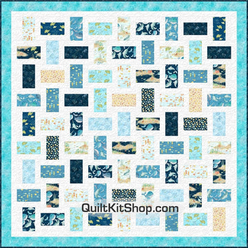 Water Wishes Queen Quilt Kit