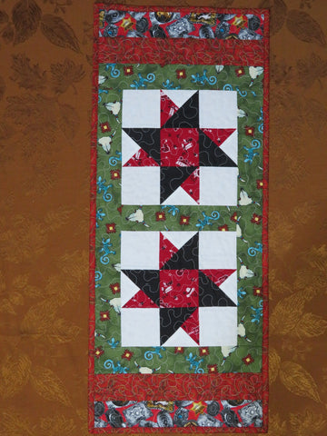 Western Star Table Runner Quilt