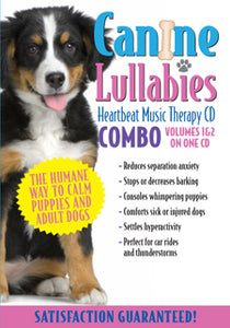 Canine Lullabies Combo CD