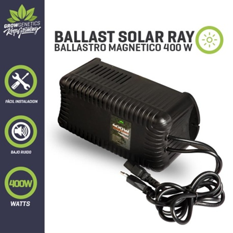 Ballast Solar Ray 400W - Plug and Play - Grow Genetics.