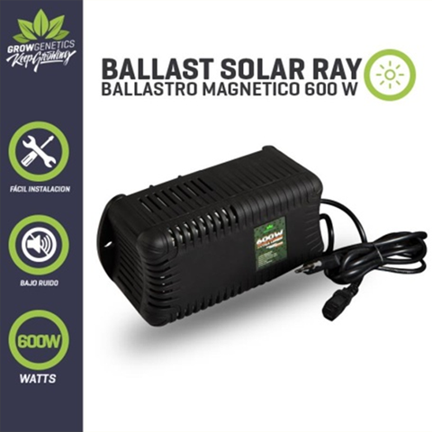 Ballast Solar Ray 600W - Plug and Play - Grow Genetics
