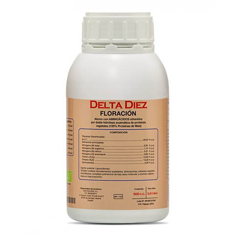 Delta 10 500Ml (Floracion/Base)