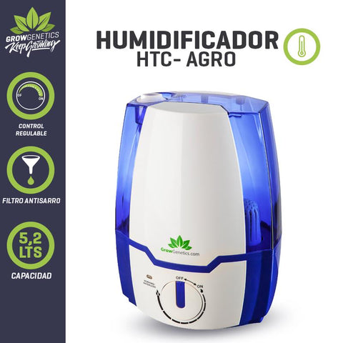 Humidificador Ultrasonico 5.2 Litros - Grow Genetics