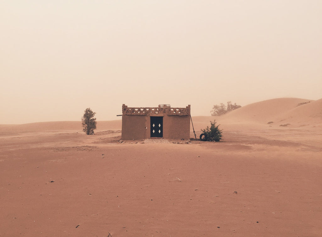 Sandstorms in Morocco