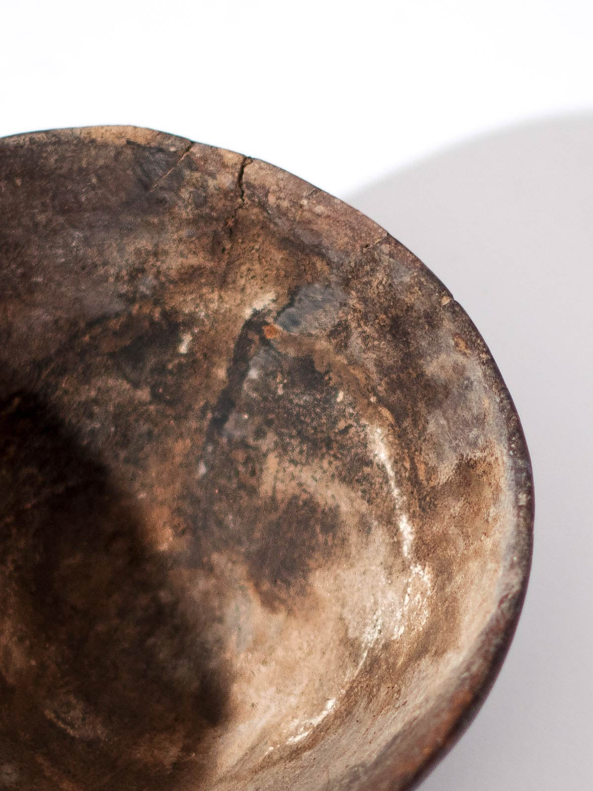 ANTIQUE BERBER WOOD MILKING BOWL - Celestial - CELESTIAL - Sourced from artists in Europe, Asia and Africa, these limited edition pieces inspire a life of simplicity and style.