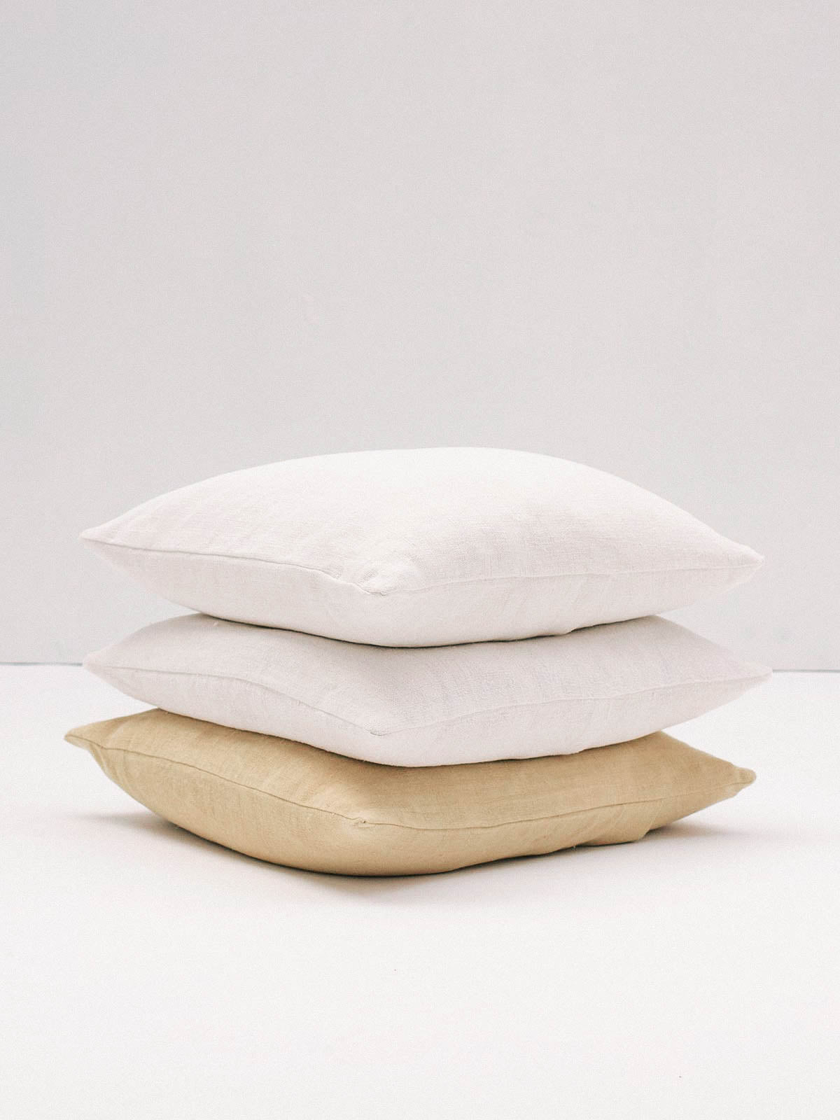 NEUTRAL LINEN CUSHION - Celestial - CELESTIAL - Sourced from artists in Europe, Asia and Africa, these limited edition pieces inspire a life of simplicity and style.