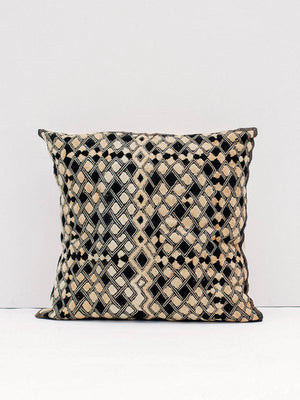 KUBA CLOTH CUSHION - Celestial - CELESTIAL - Sourced from artists in Europe, Asia and Africa, these limited edition pieces inspire a life of simplicity and style.