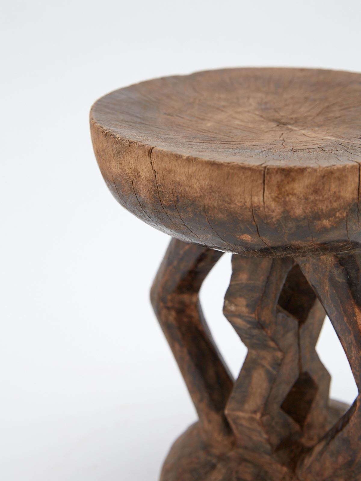 TONGA STOOL - Celestial - CELESTIAL - Sourced from artists in Europe, Asia and Africa, these limited edition pieces inspire a life of simplicity and style.