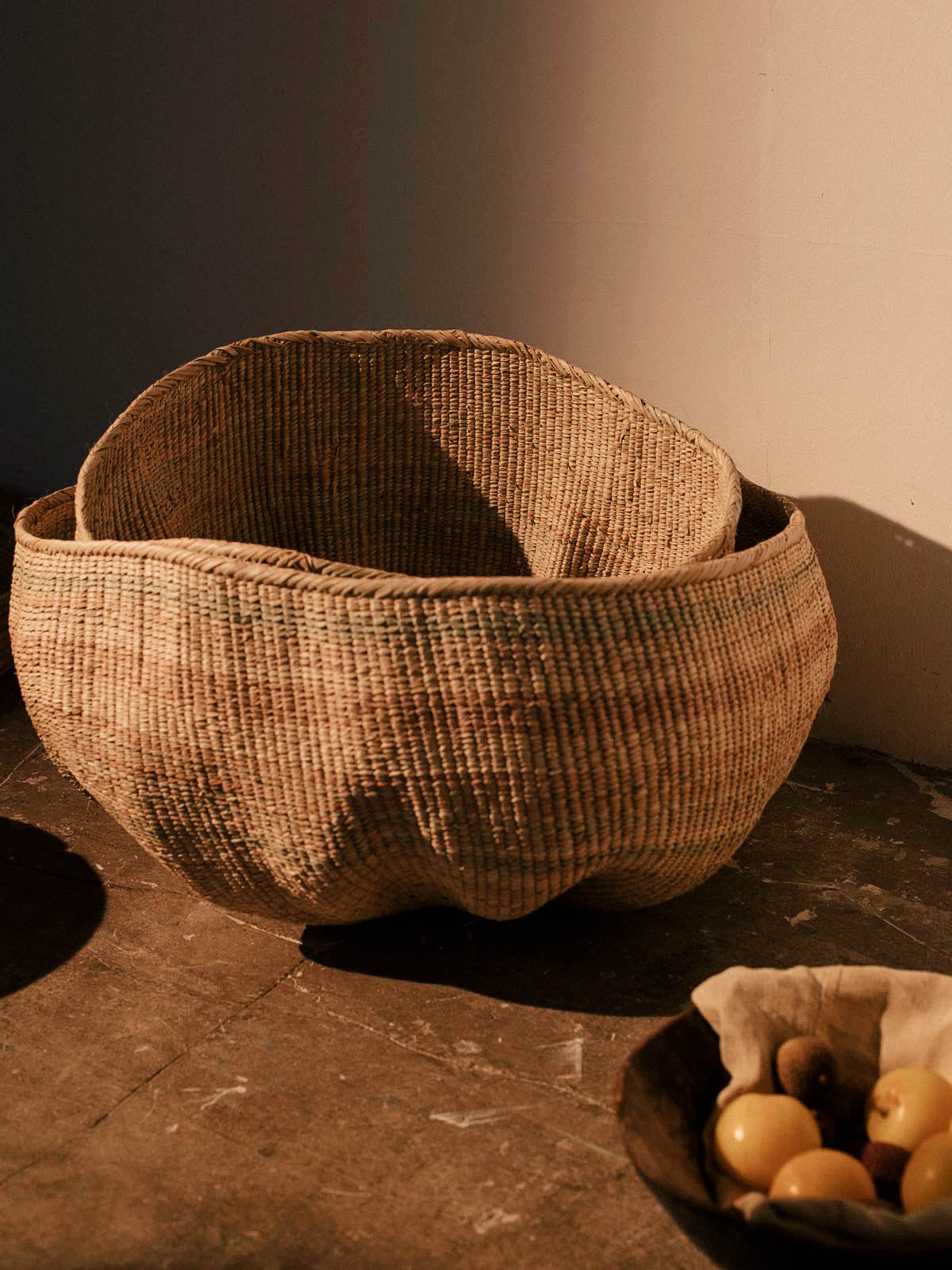 ILALA BASKET - Celestial - CELESTIAL - Sourced from artists in Europe, Asia and Africa, these limited edition pieces inspire a life of simplicity and style.