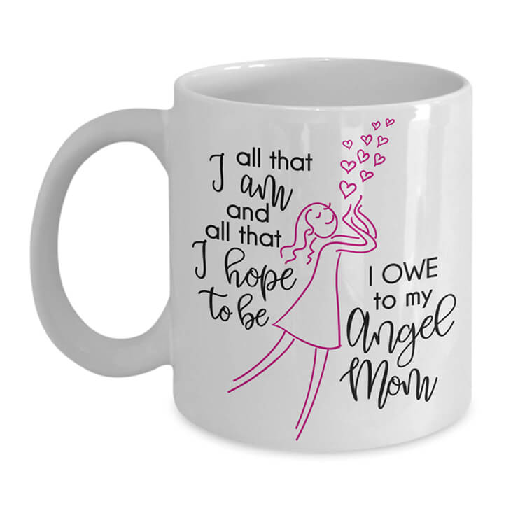 Angel Mom Mug