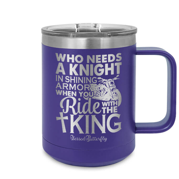Ride With The King Etched Ringneck Mug
