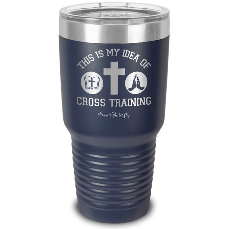 Cross Training Etched Ringneck Tumbler