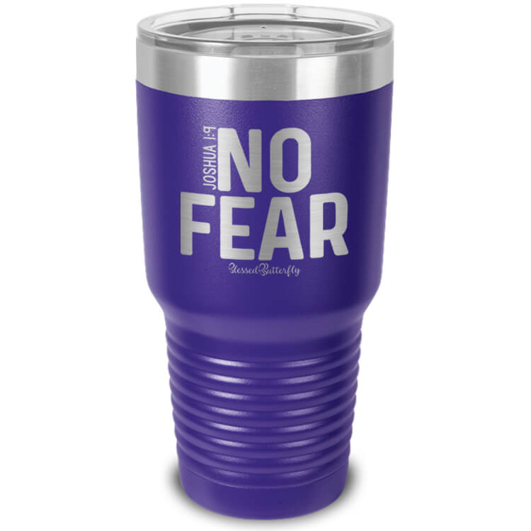 No Fear Etched Ringneck Tumbler