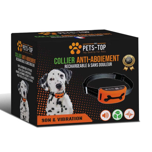 collier anti aboiement pets top