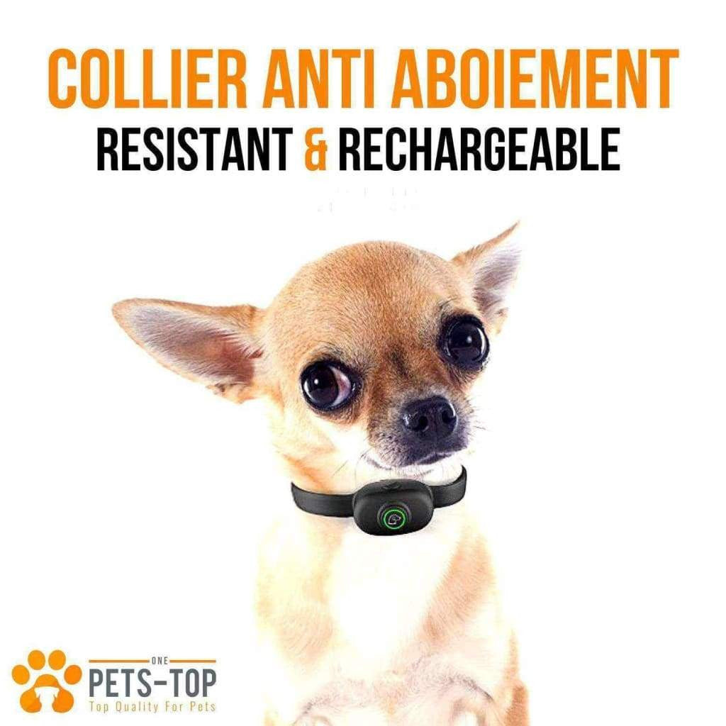 Collier Anti Aboiement Electrique Resist' - One PETS-TOP