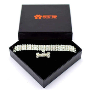 Collier pour chien Strass - One PETS-TOP