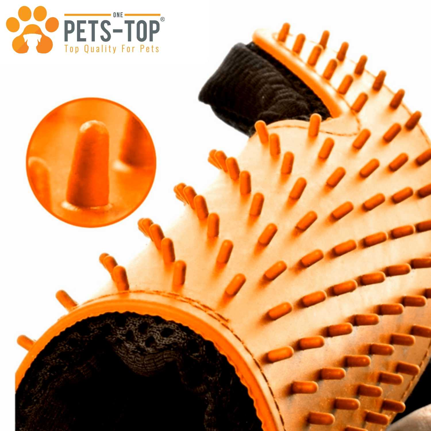 Gant Brosse Poil Chien Chat One Pets Top