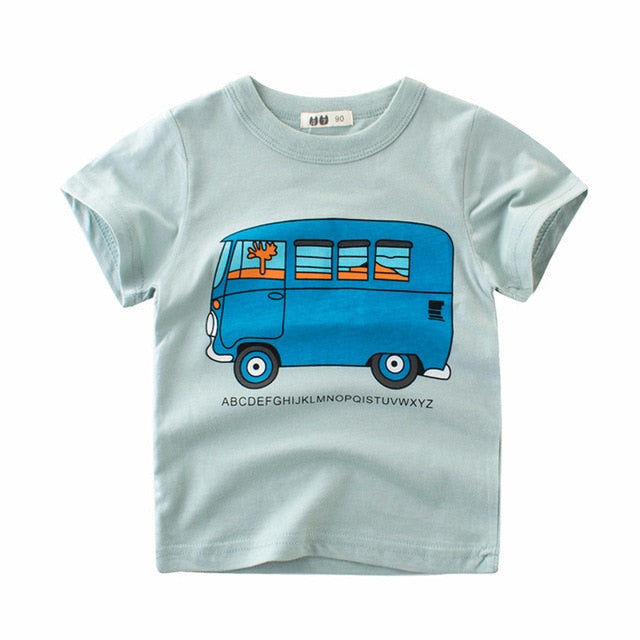 Alphabet School Bus Tee