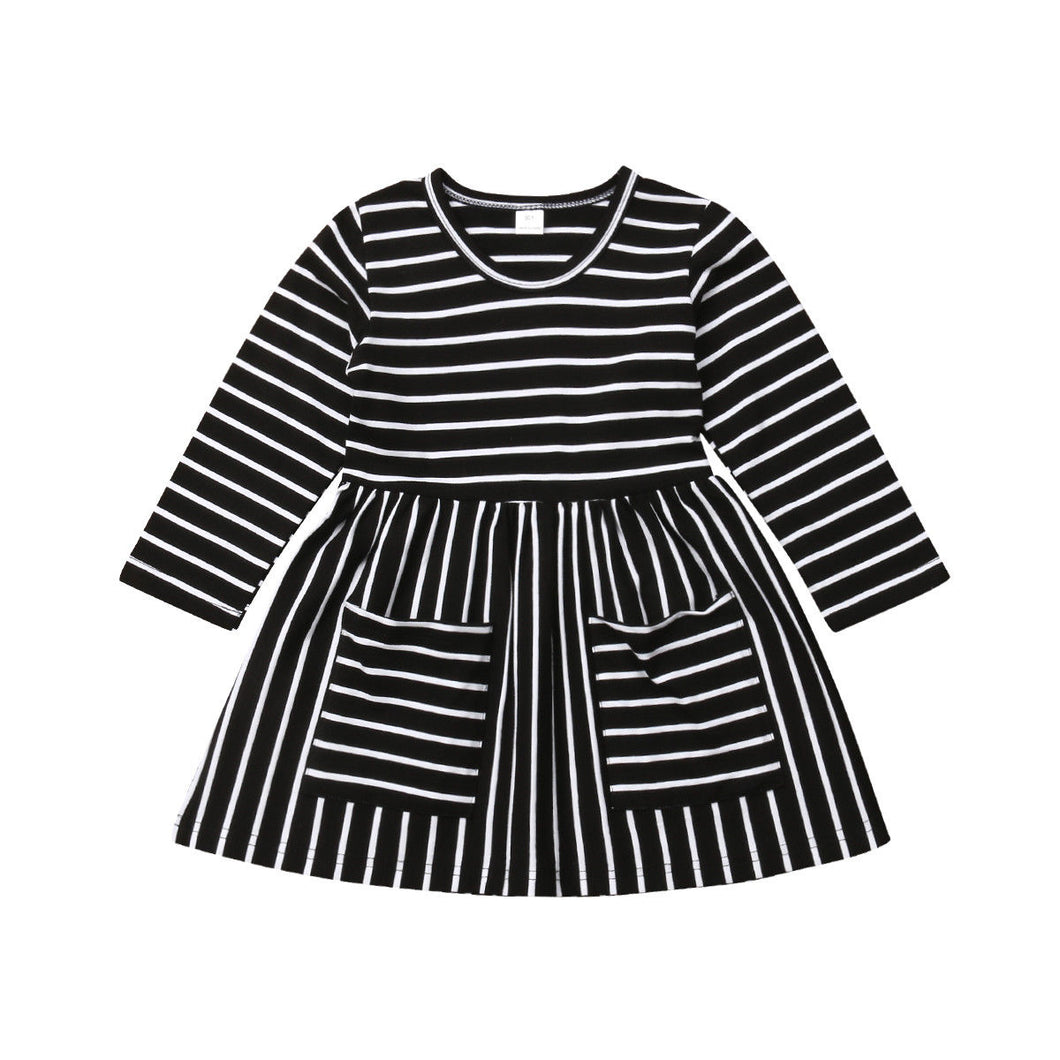 Striped Pocket Dress