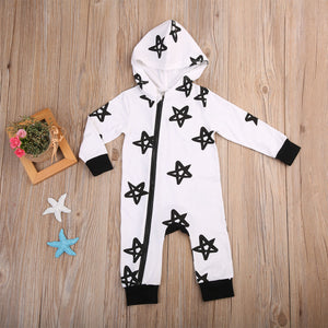 Long Sleeve Star Romper