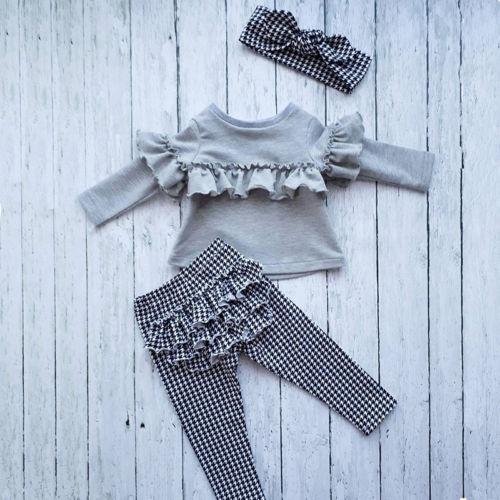 3 Piece Ruffle Outfit