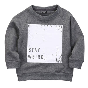 STAY WEIRD Sweatshirt sweatshirt - Small Fry Supply